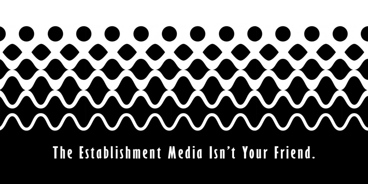 Establishment Media isn't your friend.