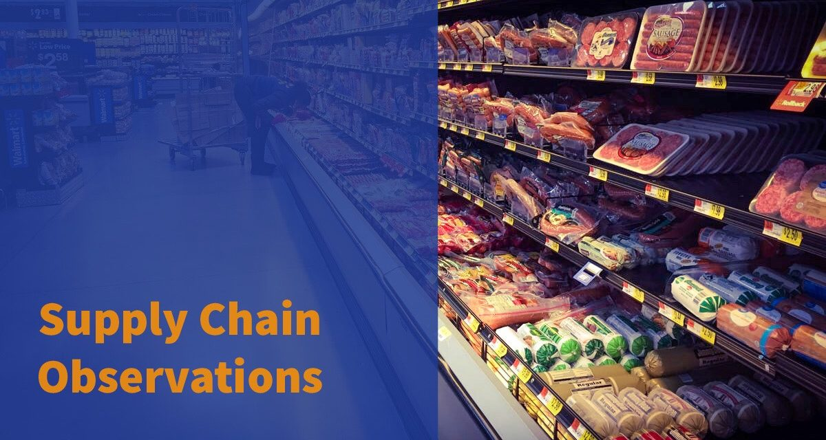 Supply Chain Observations